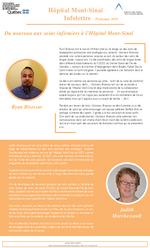 Mont Sinai Infolettre - Printemps 2018