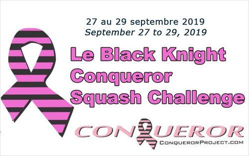 Le Black Knight Conqueror Squash Challenge: