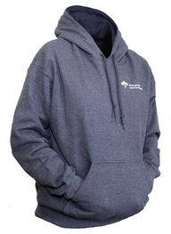 Hooded sweatshirt - grey - JGH - $16