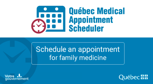 Quebec Medical Appointment Scheduler