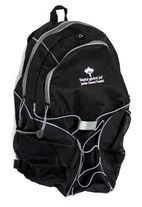 Backpack - black - JGH - $30