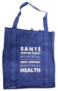 Un sac fourre-tout - bleu - SCOM - 2$
