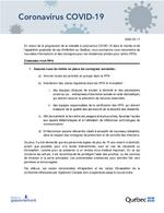Consignes pour résidences privées pour aînés - 2020-03-17