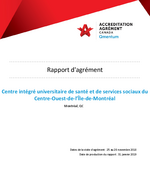 Accreditation report 2018 (French)