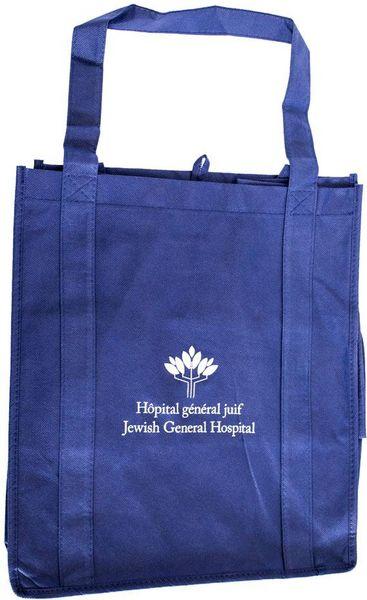 Un sac fourre-tout - bleu - HGJ - 2$