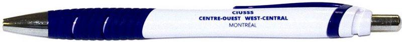 Stylo - bleu et blanc - CIUSSS - 1$