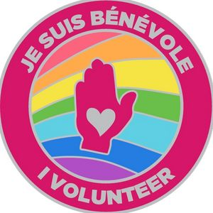 Je suis bénévole