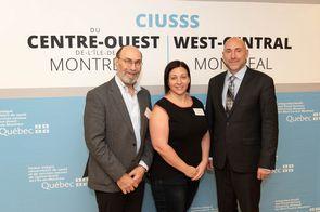 Dr. Ronald Ludman, Dr. Amélie Desjardins-Tessier, Dr. François Loubert