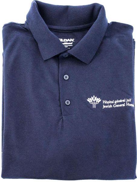Polo en coton - bleu marin - HGJ - 12$