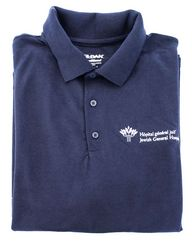 Polo shirt - navy blue - JGH - $12