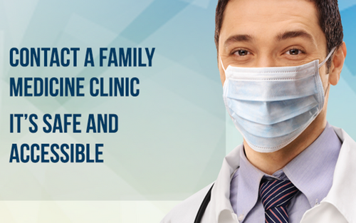 Contact a family medicine clinic. It's safe and accesible