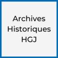 Archives Historiques HGJ