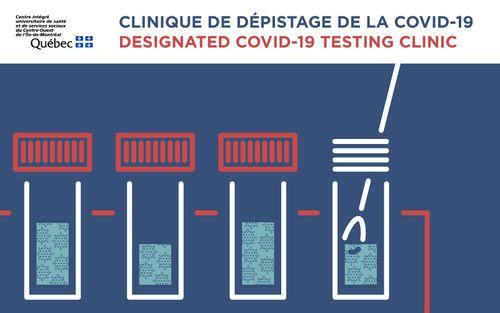 Clinique de dépistage de la COVID-19