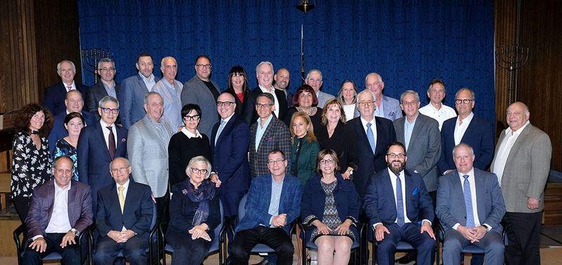 Conseil d'administration 2018-2019 de la Fondation du Centre Gériatrique Donald Berman Maimonides et de la Fondation Donald Berman Jewish Hospital of Hope Eldercare