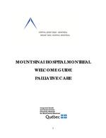 Welcome Guide - Palliative Care