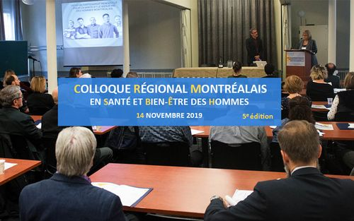 Le Colloque régional montréalais en santé et bien-être des hommes