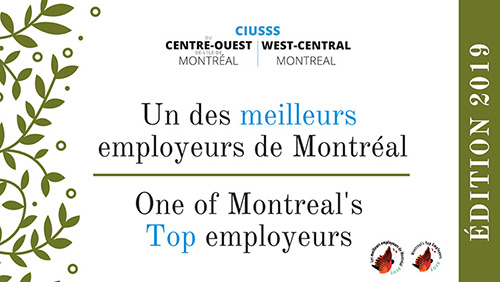 Certificate of Montreal's Top Employers