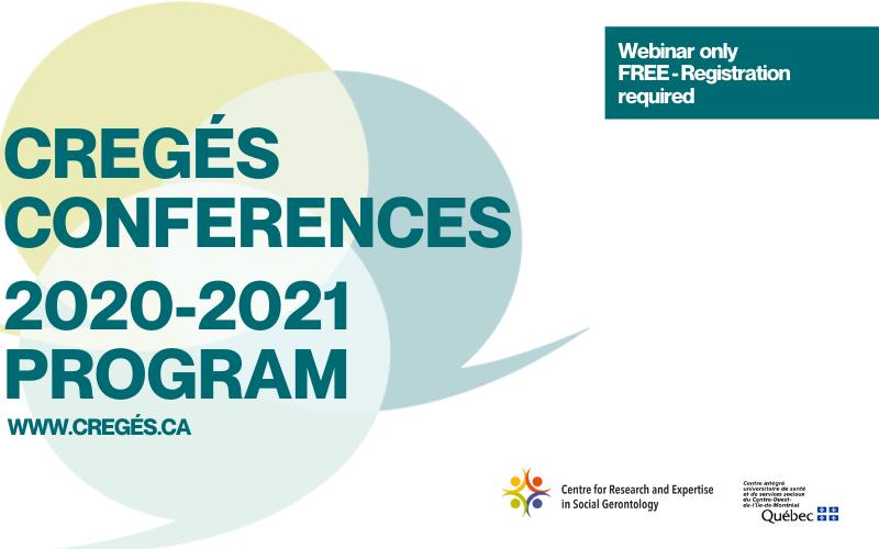 CREGÉS conferences program 2020-2021