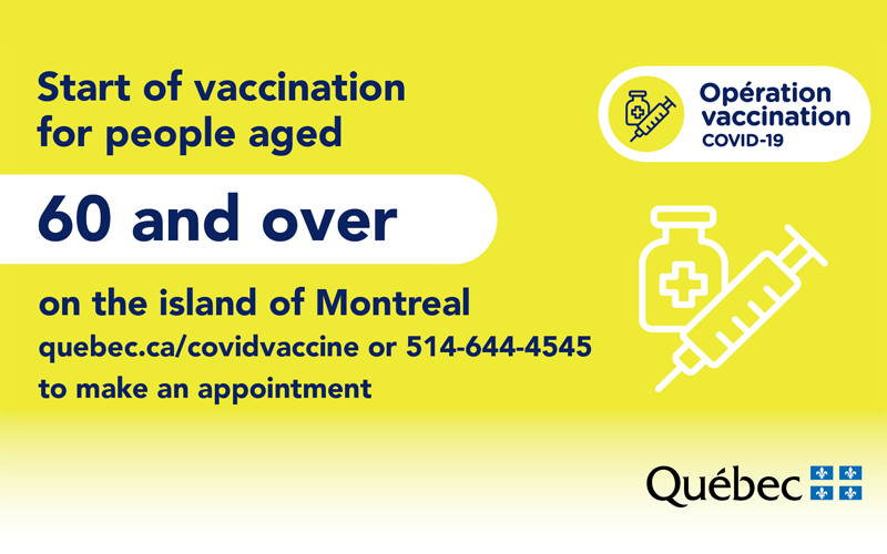 COVID-19 vaccination , 60 years and over