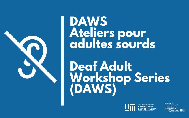 Atelier pour adulte sourde (DAWS)