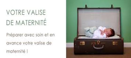 Votre valise de maternité